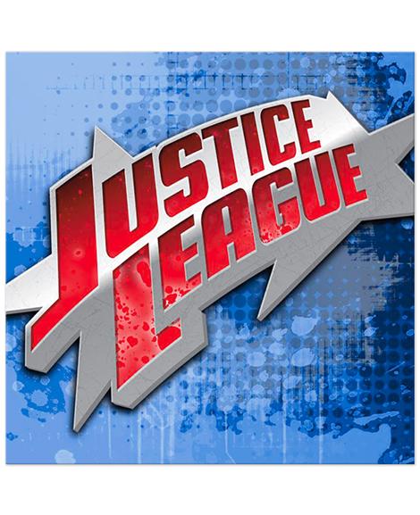 Justice League Rescue Lunch Napkins