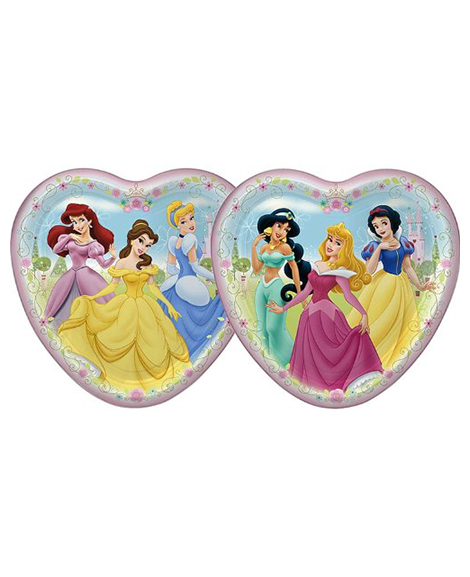 Disney Fairytale Friends Lunch Plates