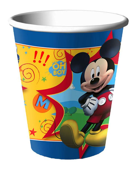 Mickey Fun And Friends 9 oz Paper Cups