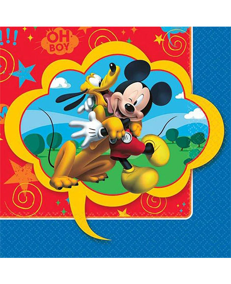 Mickey Fun And Friends Beverage Napkins