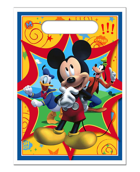Mickey Fun And Friends Party Favor Treat Bags