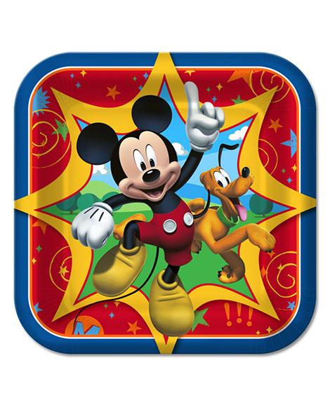 Mickey Fun And Friends Dessert Plates