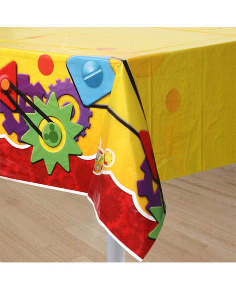 Mickey Playtime Plastic Table Cover