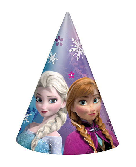 Disney Frozen Party Favor Cone Hats