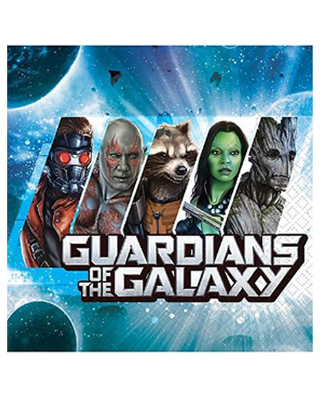 Guardians of The Galaxy Lunch Napkins