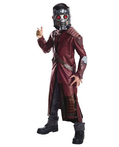 Guardians of The Galaxy Deluxe Star-Lord Costume Child Size Small 4-6