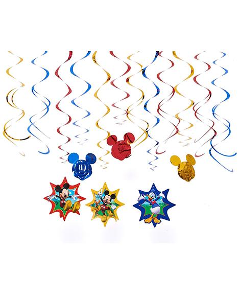 Mickey Fun And Friends Swirl Decorations