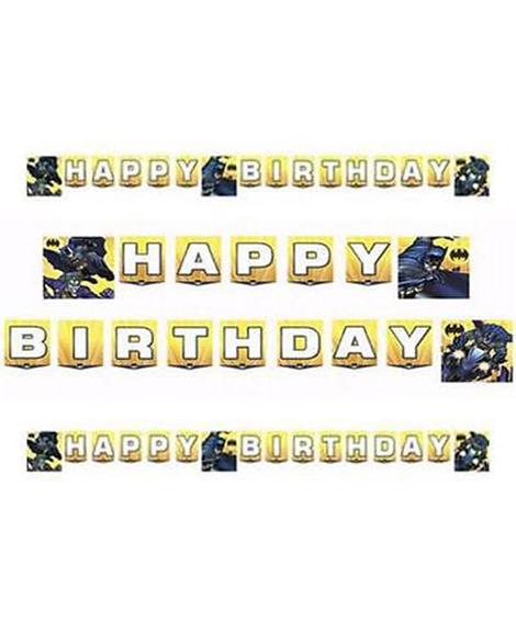 Batman Dark Knight Jointed Birthday Banner