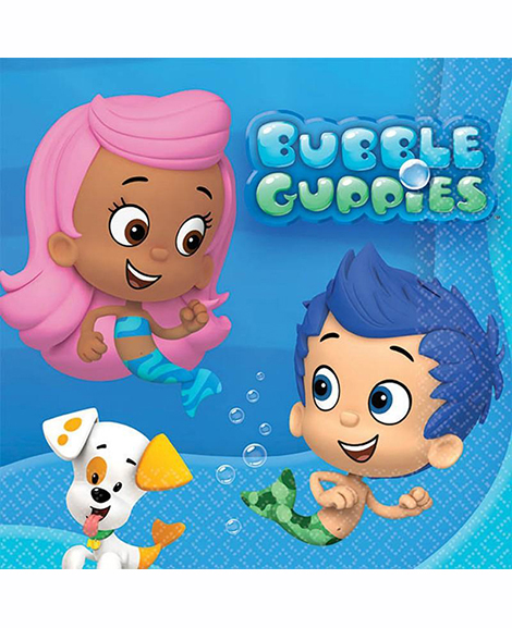 Bubble Guppies Dessert Napkins