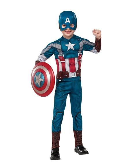 Captain America The First Avenger Retro Deluxe Costume Small 4-6