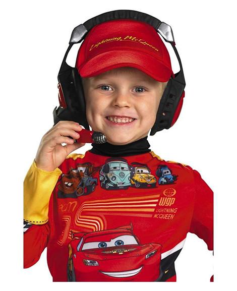Child's Cars 2 Race Car Plastic Headset