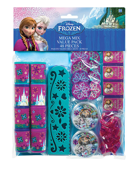 Disney Frozen Party Favor Package 48 Pieces