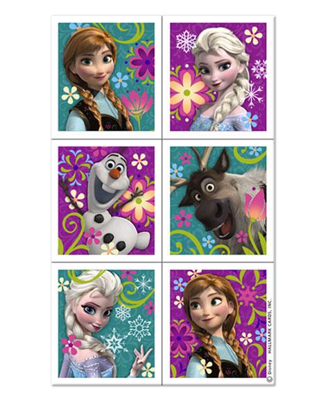 Disney Frozen Party Favor Stickers