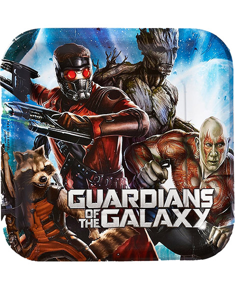 Guardians of The Galaxy Lunch Plates