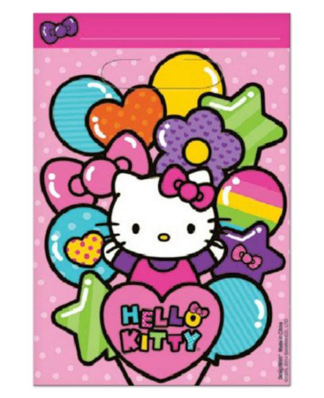 Hello Kitty Rainbow Party Favor Treat Bags