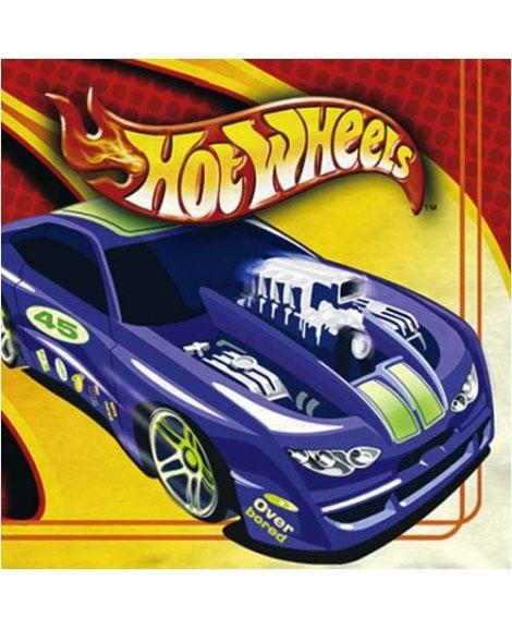 Hot Wheels High Performance Beverage Napkins