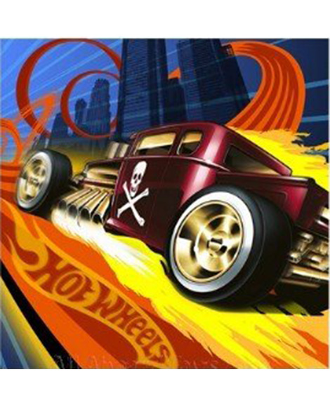 Hot Wheels High Speed Lunch Napkins