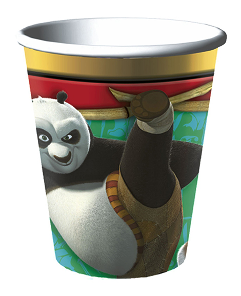 Kung Fu Panda 9 oz Paper Cups