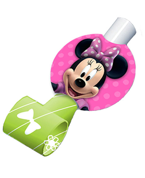 Minnie Mouse Bowtique Party Favor Blowouts