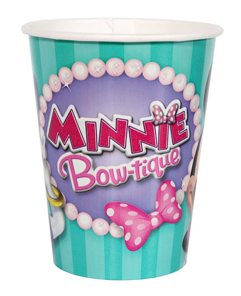 Minnie Mouse Bowtique Dreams 9 oz Paper Cups