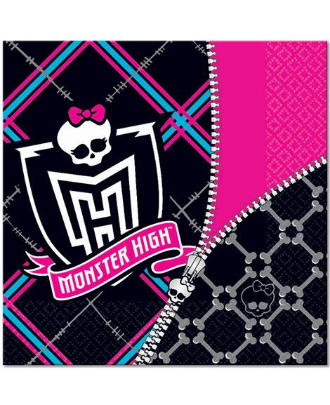 Monster High Lunch Napkins