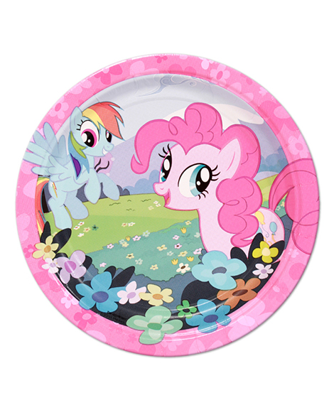 My Little Pony Friendship Dessert Plates