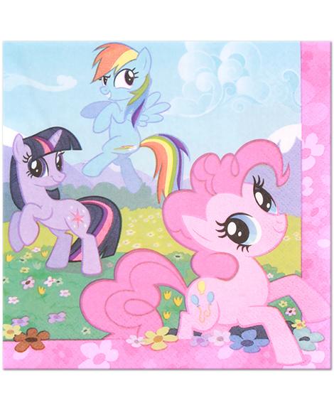 My Little Pony Friendship Lunch Napkins