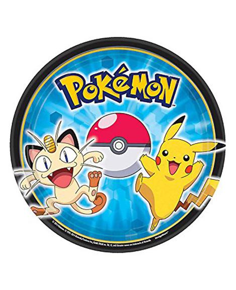 Pokemon Pikachu And Friends Dessert Plates