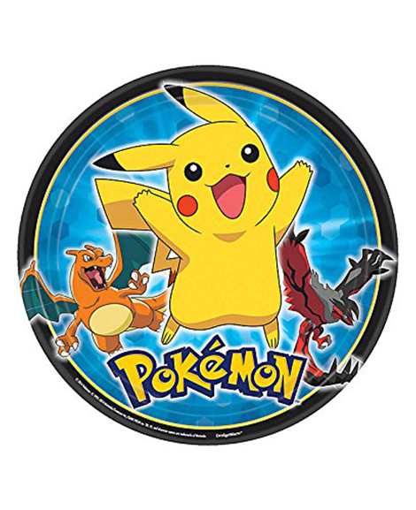 Pokemon Pikachu And Friends Lunch Plates