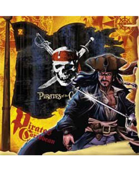 Pirates of the Caribbean 3 Beverage Napkins