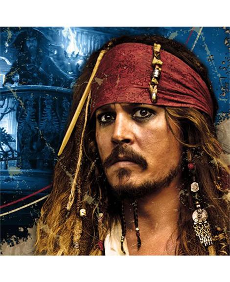 Pirates of the Caribbean 4 Beverage Napkins 16 Ct