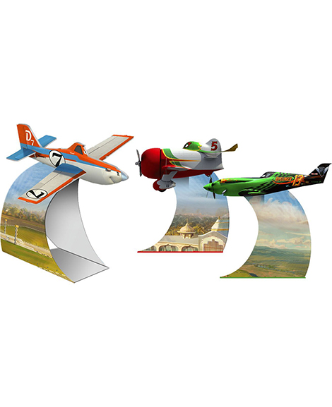 Planes 3 Piece Centerpiece