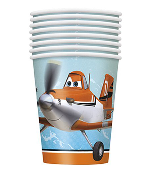 Planes 9 oz Paper Cups