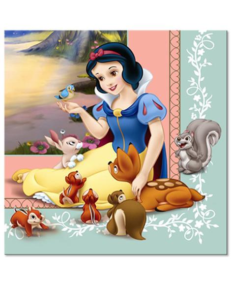 Snow White Lunch Napkins