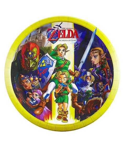 Legends of Zelda Lunch Plates