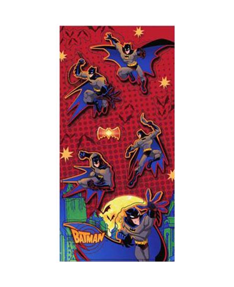 Batman Begins Party Favor Stickers