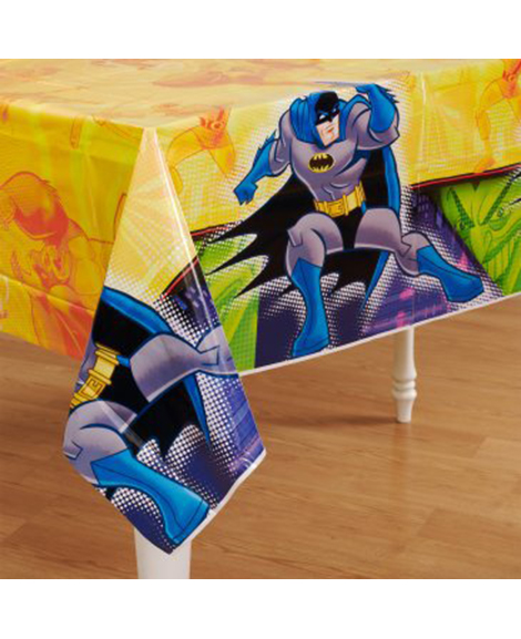 Batman Brave and Bold Plastic Table Cover
