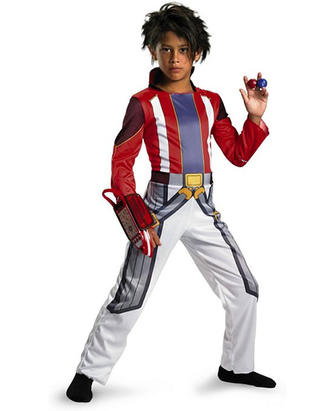 Bakugan Dan Deluxe Costume Size Small 4-6