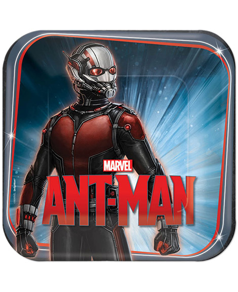 Ant-Man Lunch Plates