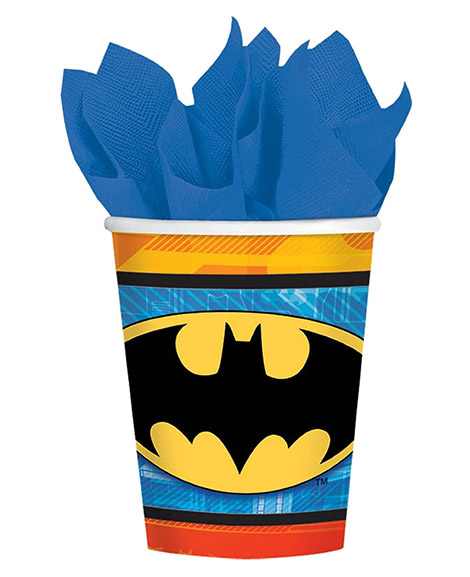 DC Batman 9 oz Paper Cups