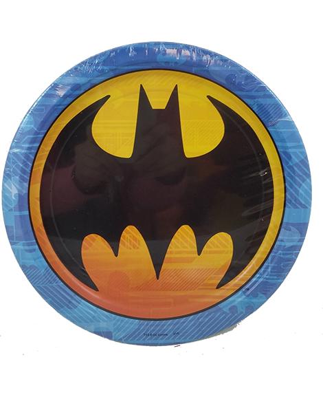 DC Batman Logo Lunch Plates