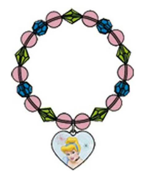 Cinderella Dreamland Party Favor Charm Bracelet