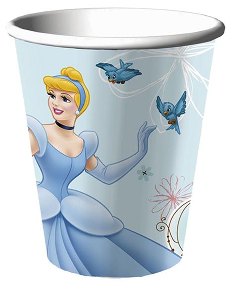 Cinderella Dreamland 9 oz Paper Cups