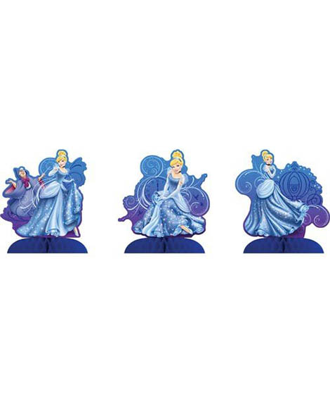 Cinderella Sparkle 3 Piece Centerpieces