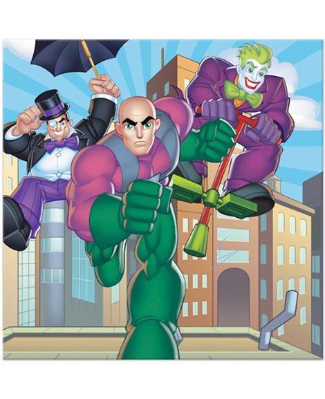 DC Super Friends Lunch Napkins