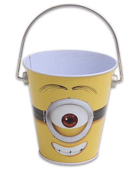 Despicable Me Metal Tin Pail with Handle
