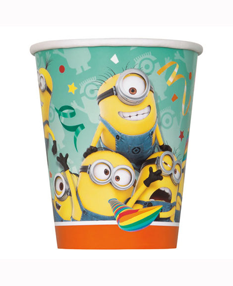 Despicable Me Minions 9 oz Paper Cups