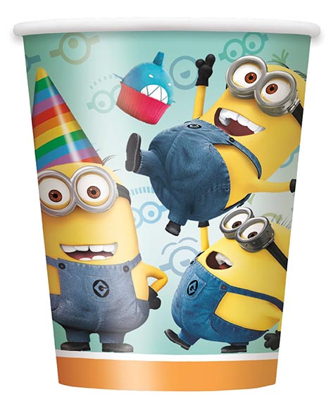 Despicable Me 2 Paper 9 oz Cups
