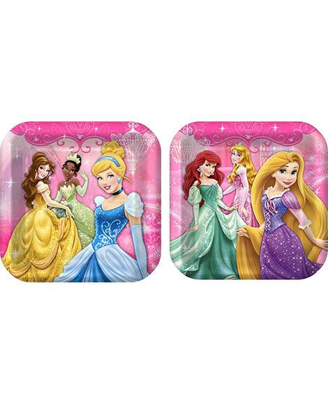 Disney VIP Princess Lunch Plates