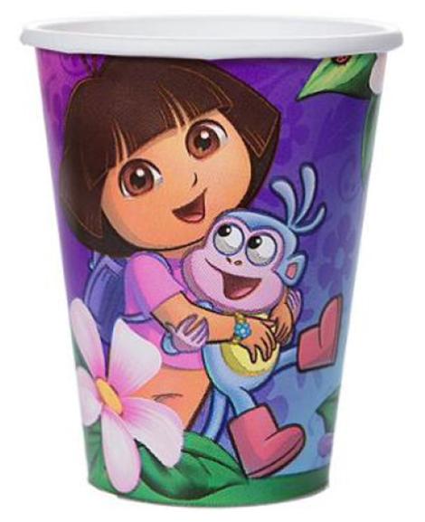 Dora Flower Adventure 9 oz Paper Cups